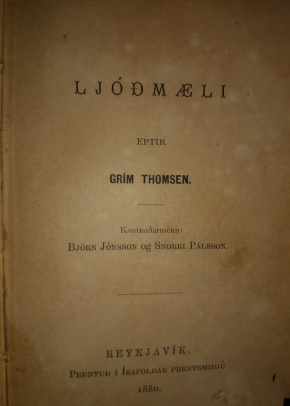 Ljóð Gríms Thomsens