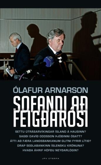 Sofandi að feigðarósi forsíða